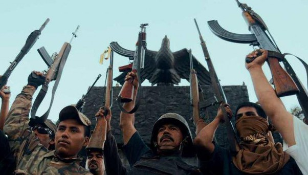 Kritik: Cartel Land (MX/US 2015)