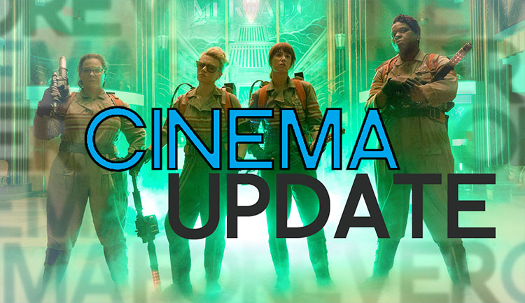 Podcast: Cinema Update #1 – Marvel, Netflix, Ghostbusters & die Oscars!