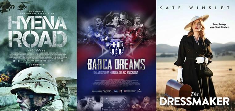"""Filmkritiken zu """"Hyena Road"""", """"Barça"""" und """"The Dressmaker"""""""