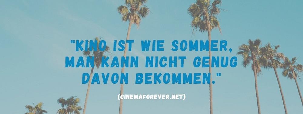 Kino ist wie Sommer